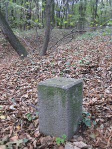 Stara hranica Slovenskleho statu a Hitlerovho Nemecka