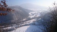 Šiatorská Bukovinka výhľad z kameňolomu