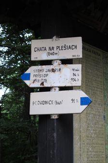 Chata na Plešiach