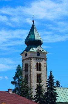 Liptovský Mikuláš, kostol sv. Mikuláša, veža