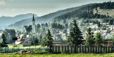 Černová, rímskokatolícky kostol Panny Márie Ružencovej