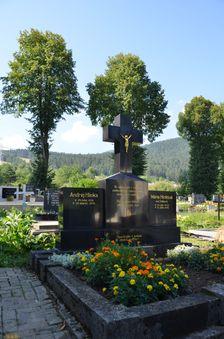 Černová, hrob Hlinkových rodičov
