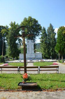 Pomník obetiam Černovskej tragédie & kríž