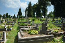 Černová, cintorín