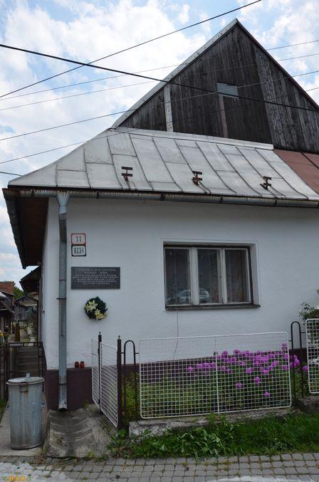 Černová č.8234(11), rodný dom Bernarda Jaška