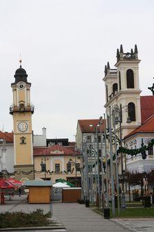Sikma veza, Namestie SNP, Banska Bystrica, public square