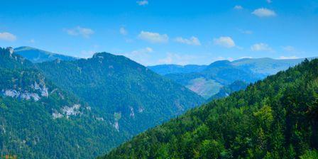 Biela skala 1385m & Borišov 1510m & Dedošov stolec & Suchý vrch 1550m & Škap