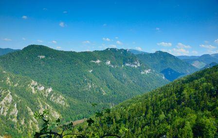 Biela skala 1385m & Borišov 1510m & Dedošová 1070m & Plavá 1136m & Škap