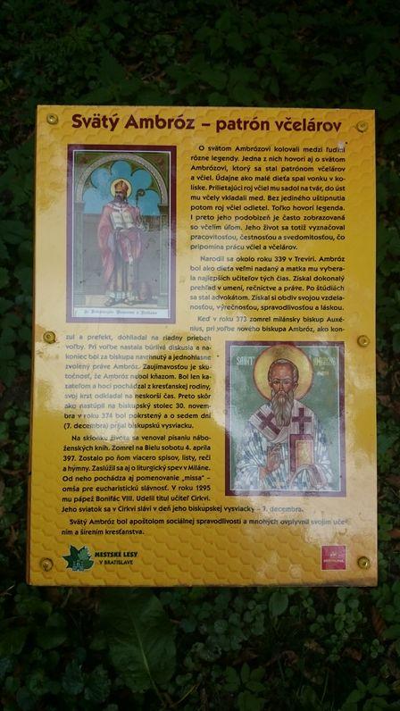 Svätý Ambróz - patrón včelárov