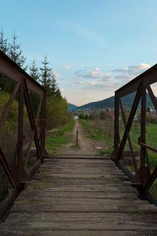 Most bývalej železničnej trate