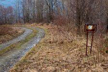 Cesta do Ruského sedla s kilometrovníkmi :-)