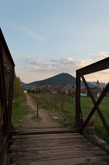 Most bývalej lesnej železnice