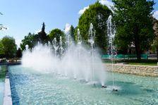 Hrajúca fontána